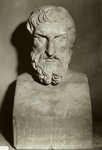 Bust of Epicurus.