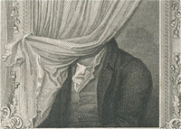Chambers, Illustrations of the Author of Waverley, Frontispiece: detail.