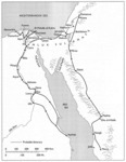 Map 4: Ibn Battuta's Itinerary in Egypt, Syria, and Arabia, 1326