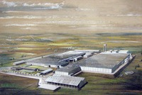 Artist's depiction of future Kaduna Textiles Limited mill.
