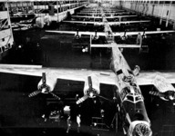 Willow Run assembly line