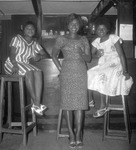 Fig. 6: Photograph of sendoff Party for Elizabeth Muna at the uea Mountain Club, November 1961.
