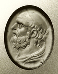 "Stosch ""Xenocrates"" engraved gem, now in Berlin."