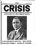 The cover of the July 1933 issue of The Crisis: A Record of the Darker Races