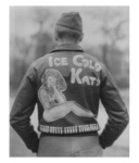 The owner of this jacket was a member of Ice Cold Katy's flight crew and a veteran of twenty-five combat missions.