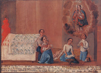 Source: Anonymous, 1774. Collection of María and Gonzalo Méndez. Zapata, Mexico D.F.