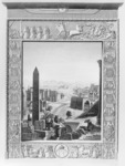 Framing and claiming Egyptian antiquity: Cécile's engraved frontispiece to Description de l'Égypte, vol. 1: Antiquités: Planches (Paris, 1809). The landscape shows no sign of Cairo, Islamic monuments, or modern inhabitants.