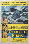 An illustrated color poster for the film Cockleshell Heroes.