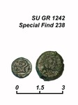 Coin Δ 238b, obverse and reverse.