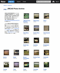 "The image shows a screenshot of ""JIRCAS Photo Archive"" on flickr."