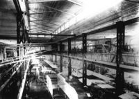 The Dux airplane factory in Moscow, circa 1915.