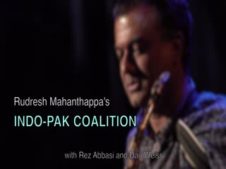 Rudresh Mahanthappa describes his second Indo-Pak Coalition album, _Agrima_, featuring Rez Abbasi and Dan Weiss.
