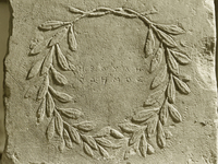 Wreath of the Phaidros Sphettios inscription ( II2 682).