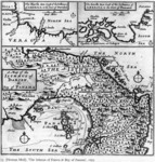 "3. Herman Moll, ""The Isthmus of Darién and the Bay of Panamá 1697"