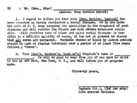 This form letter was designed to reduce sexually transmitted diseases among American troops.