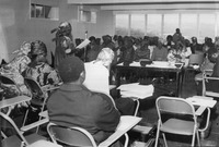 Fig. 8: Photograph of A women's organization meeting, ca. late 1960ss–1970s.
