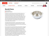 "Screenshot of America's Test Kitchen ""Bundt Pans"" review"