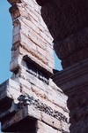 Detail of Outer Ring of the Arena in Verona (photo by author).