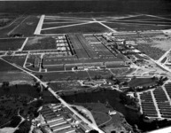 Willow Run: building and airfield