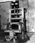 Florida electric chair. Courtesy of the Florida Photographic Collection, State Archives of Florida.