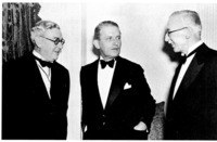 Lord Perry, C. E. Sorensen, and Heinrich Albert in the mid-1930s