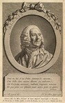 "Alexis Piron. This engraving by Nicolas Le Mir appeared as the frontispiece to Piron, Oeuvres choisies (Paris: Duchesne, 1773); it based on a painting by Nicolas Bernard Michel Lépicié, to which the engraver added a verse praising Piron's ""brain"" as the source of his ""glory."" It is reproduced here from the Library of Congress, Division of Special Collections [PQ2019.P6 A17]."