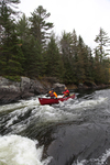 Here a Nova Craft Moisie model tackles the rapids on Ontario's Madawaska River.