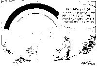 "Political cartoon featuring an old man speaking to a young boy, saying ""and then one day, it changed back, and we realized the rainbow was just a temporary illusion."" On the lower left is a sign that reads ""The Black and White Nation."" The signature for the artist, Zapiro, is in the lower right corner."