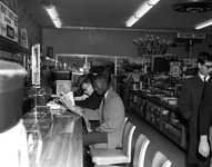 A sit-in at the Woolworth's lunch counter in Tallahassee, Florida on March 13, 1960.
