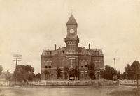 Obion County Courthouse, Union City, Tennessee. Courtesy of the Tennessee State Library and Archives.
