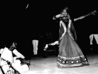 Dancing girl performing in Sultānā ḍākū. By permission of the Sangeet Natak Akademi.