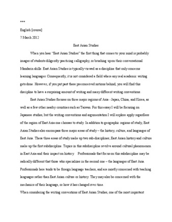 "View PDF (97.3 KB), titled ""Writing Sample 1 from Linda"""