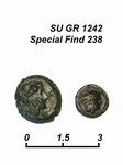 Coin Δ 238, obverse and reverse.