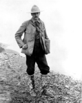 Edwin Tappan Adney in the Yukon, 1897.