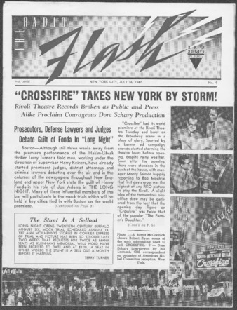 """Crossfire Takes New York by Storm!"" Radio Flash"