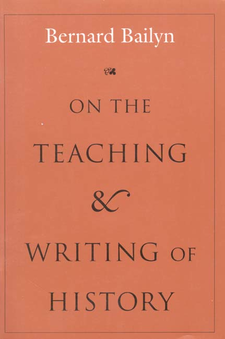 Cover image for On the teaching and writing of history: responses to a series of questions