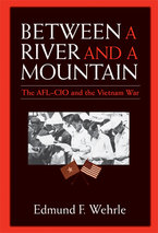 Cover image for Between a River and a Mountain: The AFL-CIO and the Vietnam War