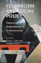 Cover image for Federalism and Social Policy: Patterns of Redistribution in 11 Democracies