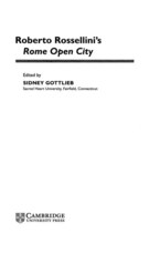 Cover image for Roberto Rossellini's Rome open city