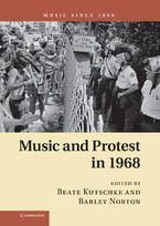 Cover image for Music and protest in 1968
