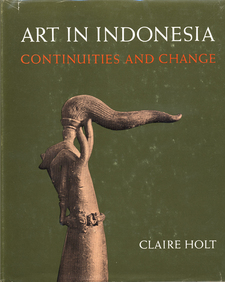 Cover image for Art in Indonesia: continuities and change