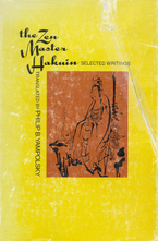 Cover image for The Zen Master Hakuin: selected writings