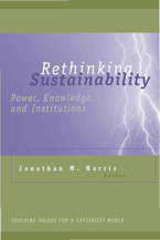 Cover image for Rethinking Sustainability: Power, Knowledge, and Institutions