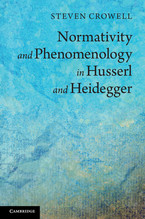 Cover image for Normativity and Phenomenology in Husserl and Heidegger