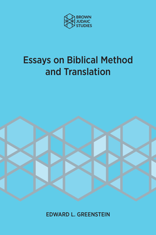 Cover image for Essays on Biblical Method and Translation