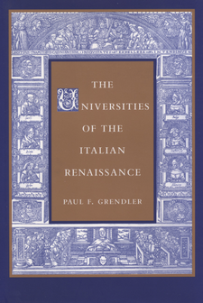 Cover image for The universities of the Italian Renaissance
