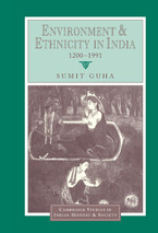 Cover image for Environment and ethnicity in India, 1200-1991