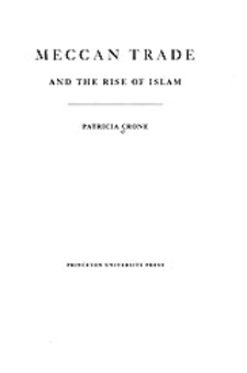 Cover image for Meccan trade and the rise of Islam