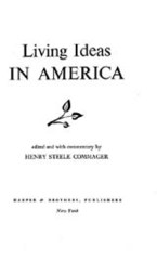 Cover image for Living ideas in America