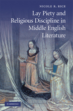 Cover image for Lay piety and religious discipline in Middle English literature